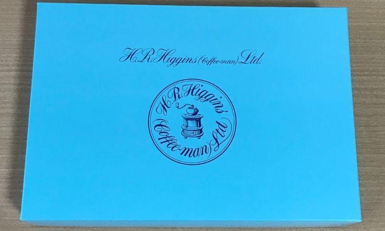 ヒギンス、ティーバッグ6個セット「ベストセールスセレクション」の箱